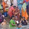 Women Bathing, Ganges River