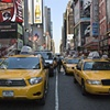 Taxicabs, Times Square