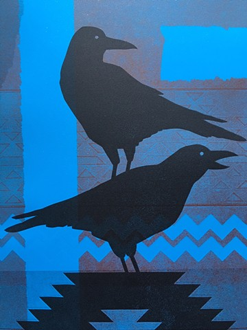 Untitled (Dual Crow Series)