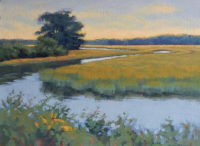 """Goldenrod by the Marsh"""