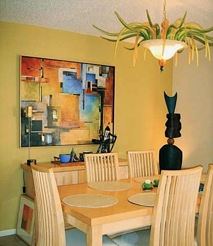 Wendy and Steve Rosen Residence Pass-a-Grille, FL Dining Room