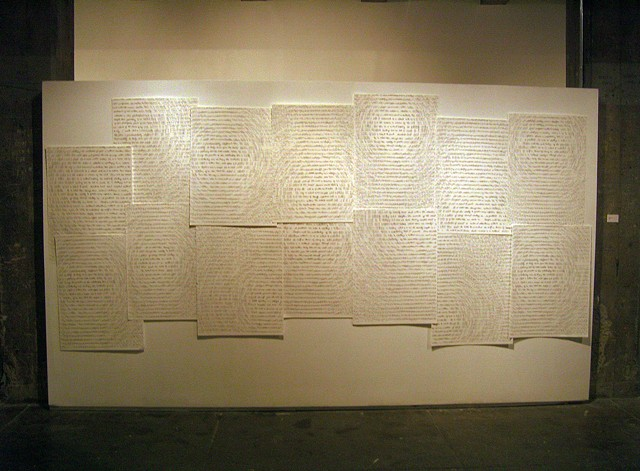 Text Installation View I