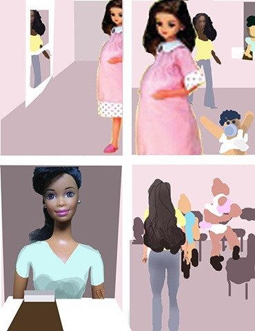 Story Board for 'Big Gurl'-Page 17