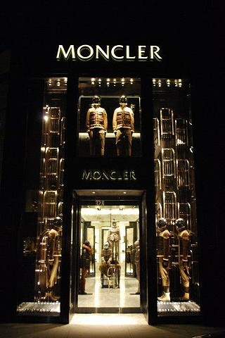 Moncler Beverly Hills opening