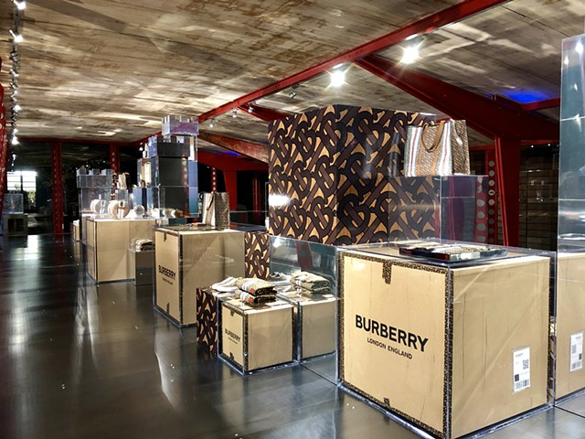 Burberry Monogram Pop-up @ Maxfield