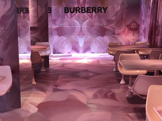 Thomas Burberry cafe Nordstrom NYC concept space