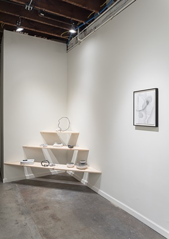 installation image  Black Crown Gallery, September-October 2017  image courtesy of Phillip Maisel