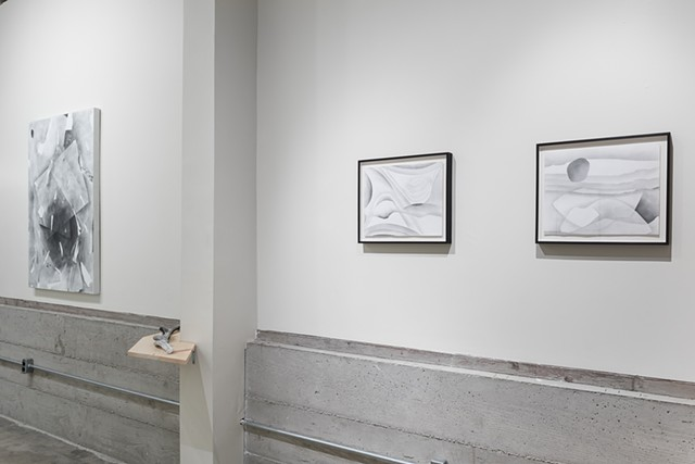 installation image  Black Crown Gallery, September-October 2017  image courtesy of Philip Maisel