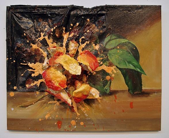 Exploded Peach