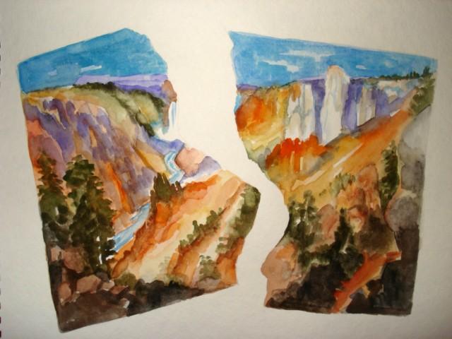Cracked Canyon 1