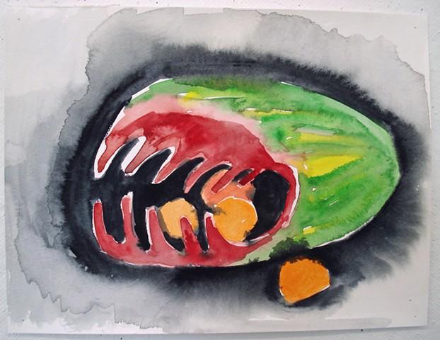 Fruit Eating Fruit