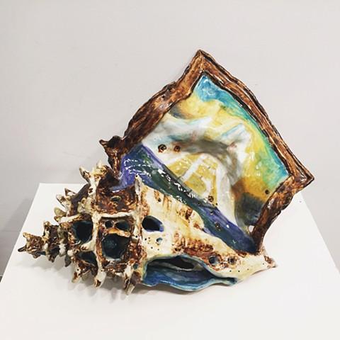 Iceberg, Ship and Shell