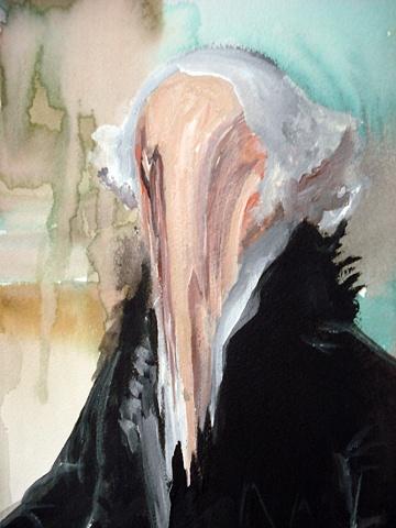 George Washington Seated Melted