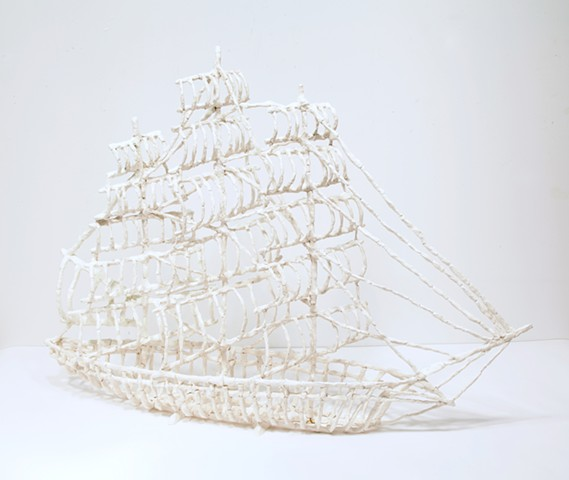 Bone Clipper Ship 1