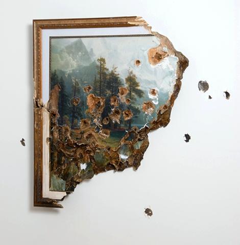 Bierstadt with Holes