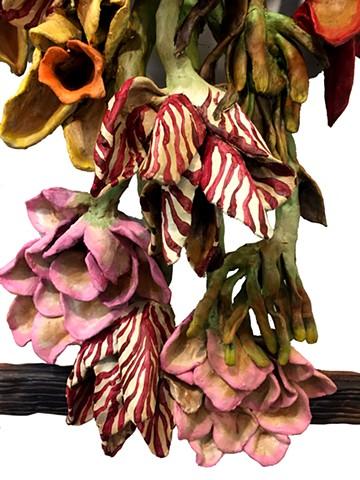 Vanitas with Roses Elegy (detail)