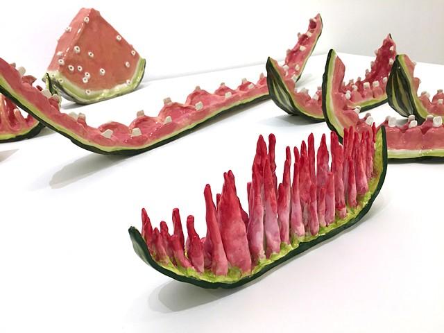 Watermelon Installation detail