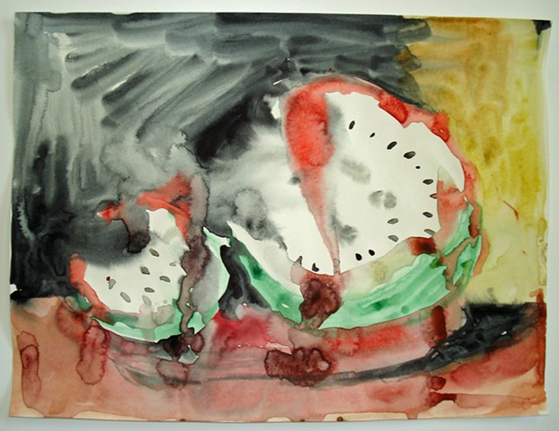 Watermelon Skull 2