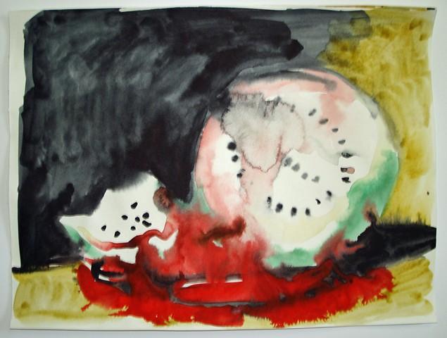 Watermelon Skull 3