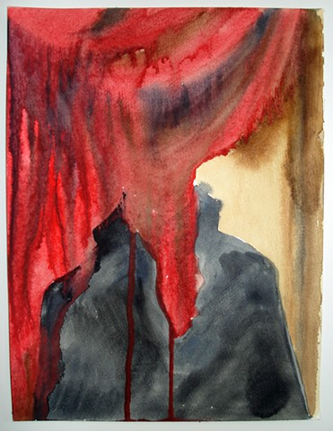 Red Curtain 1