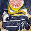 Grapefruit Canvas Unravel