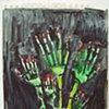 Skeleton Flower Hands