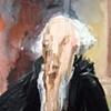 George Washington Standing Melted