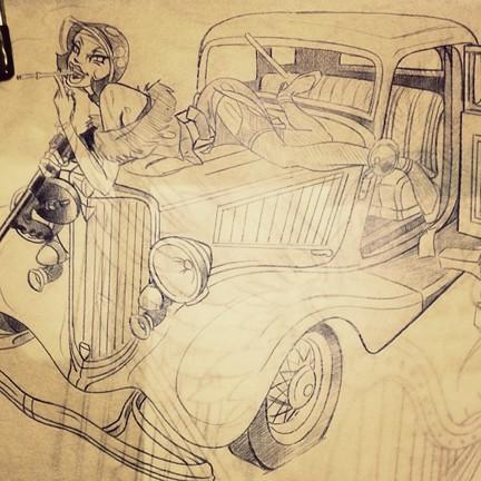 Bonnie's Sketch