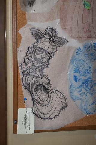 Eric Cooper San Diego Tattoo Denver Colorado art, Hawaii art, guru.