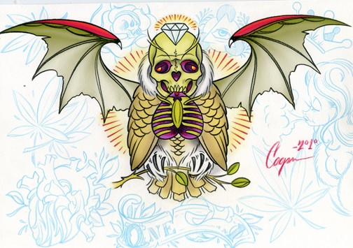Cryptic Owl