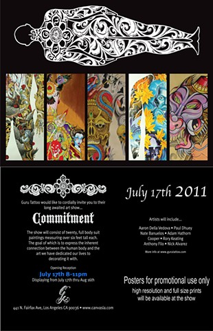 Commitment Promo Poster