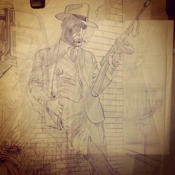 Clyde's Sketch