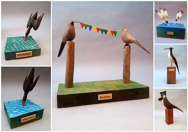 Birds at Bluecoat