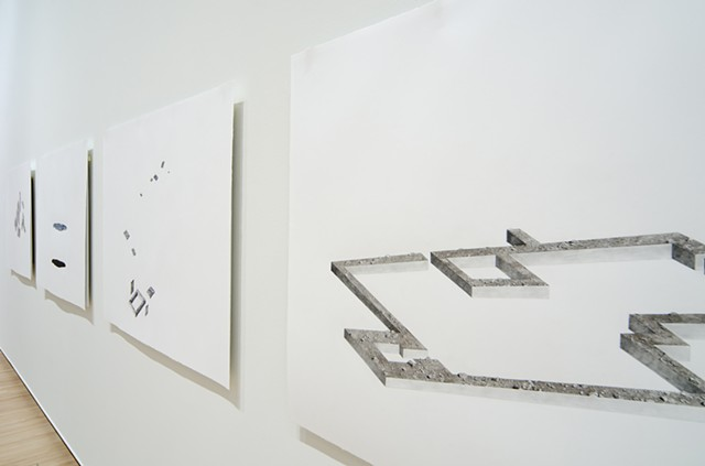 We do not profess to construct planets - installation view