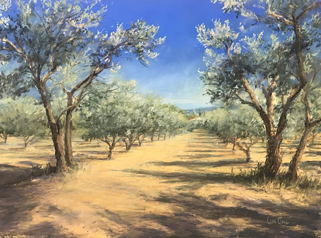 Olive Grove at Saint-Remy