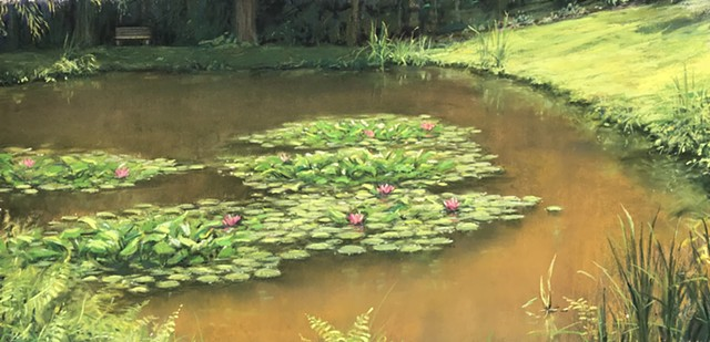 Tom's Pond II (Plein Air)