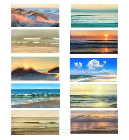 Seascape Notecards