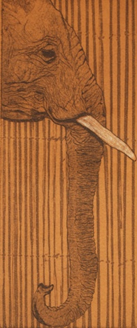 Elephant and Bamboo