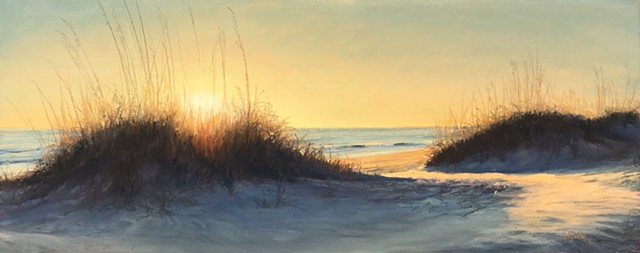 Sunrise Between the Dunes