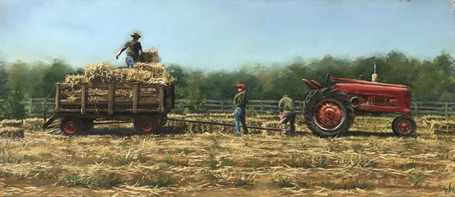 Hay Harvest at Frying Pan