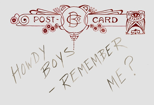 Title: Howdy boys (back)