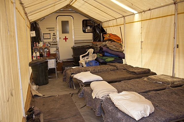 No More Deaths, Medical Tent