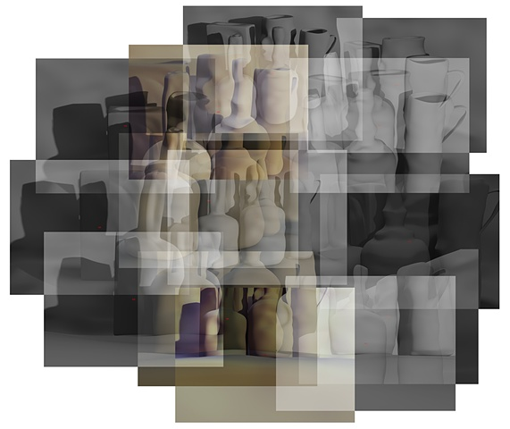 Soft Morandi Collage