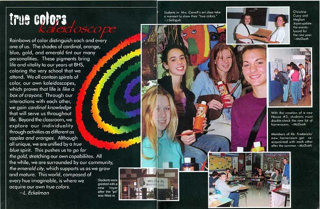 """True Colors"" (Interior/Page Layout)"