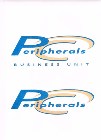 PC Peripherals Business Division Logo Design