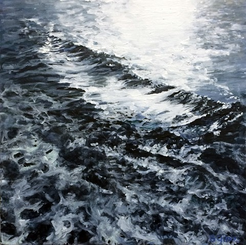 Ocean field paintings