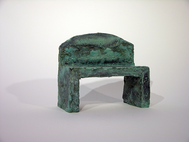 """Landscape Bench"" was cast at Cranbook"