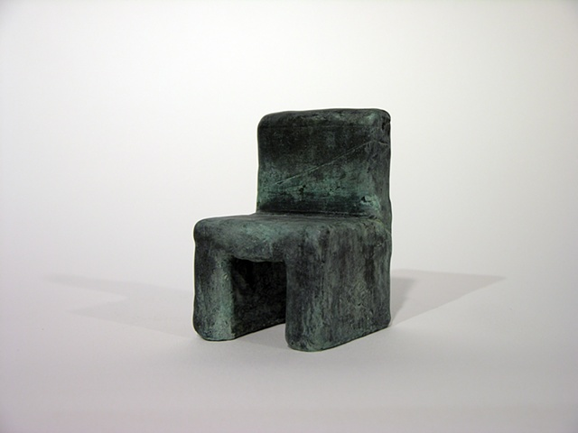 """Layered Chair was cast at Cranbrook."