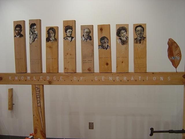 Auburn Installation (Jewish Atheist Heroes)
