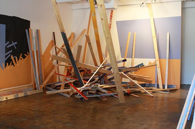 Crosstown Arts Installation
